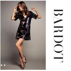 BARDOT MULTI SEQUIN DRESS